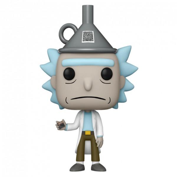 Фигурка Funko POP! Animation: Rick & Morty: Rick with Funnel Hat (Exc)
