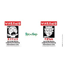 Кружка Rick and Morty (Wanted) 315ml