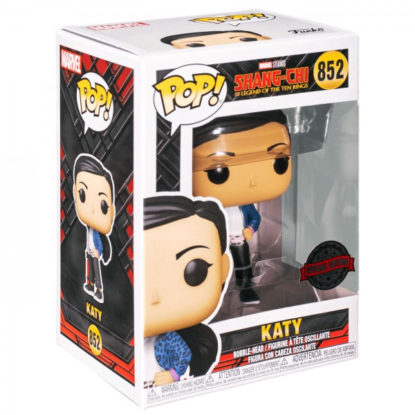 Фигурка Funko POP! Bobble: Marvel: Shang-Chi: Katy Casual (Exc)