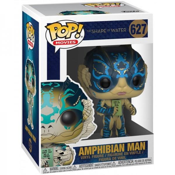 Фигурка Funko POP! Vinyl: Shape of Water: Amphibian Man with Card