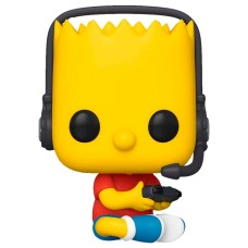 Фигурка Funko POP! Simpsons: Gamer Bart (Exc)
