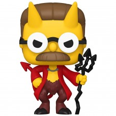 Фигурка Funko POP! Vinyl: Simpsons: Devil Flanders (GW) (Exc)