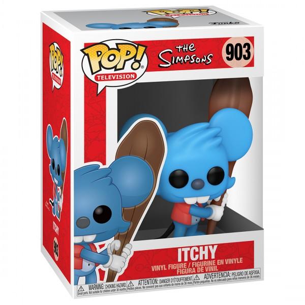 Фигурка Funko POP! Vinyl: Simpsons: Щекотка (Itchy)