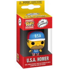 Брелок Funko Pocket POP! Simpsons: USA Homer