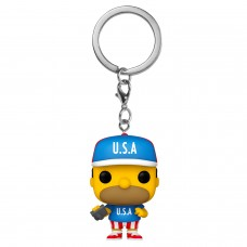 Брелок Funko Pocket POP! Simpsons: USA Homer