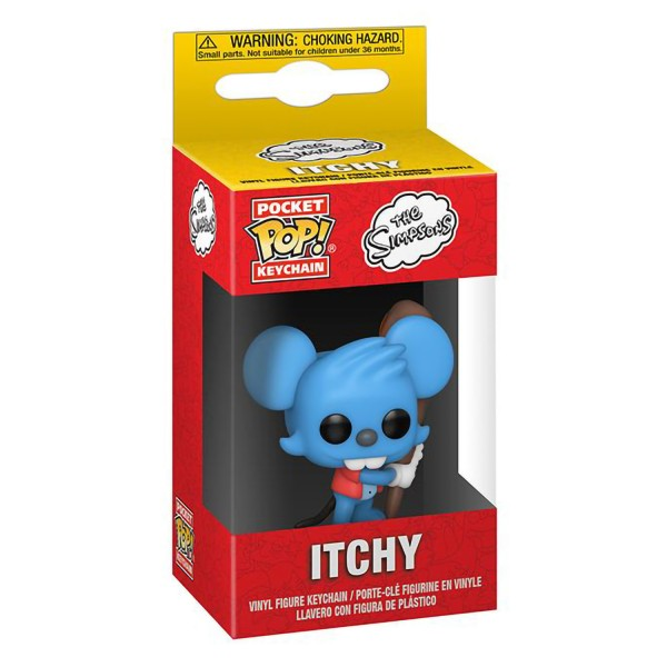 Брелок Funko Pocket POP! Simpsons: Itchy