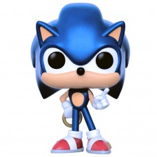 Фигурка Funko POP! Games Sonic the Hedgehog Sonic with Ring (Metallic)