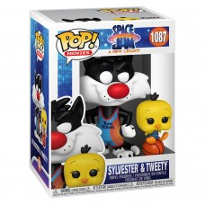 Фигурка Funko POP! Movies: Space Jam: A New Legacy: Sylvester & Tweety