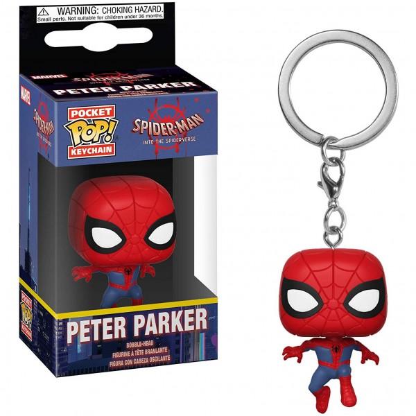 Брелок Funko Pocket POP! Keychain: Spider-Man Peter Parker