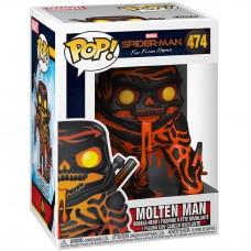 Фигурка Funko POP! Bobble: Marvel: Spider-Man: Far From Home: Molten Man