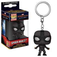 Брелок Funko Pocket POP! Marvel: Spider Man (Stealth Suit)