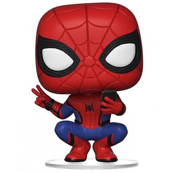Фигурка Funko POP! Bobble: Marvel: Spider-Man: Far From Home: Spider-Man (Hero Suit)