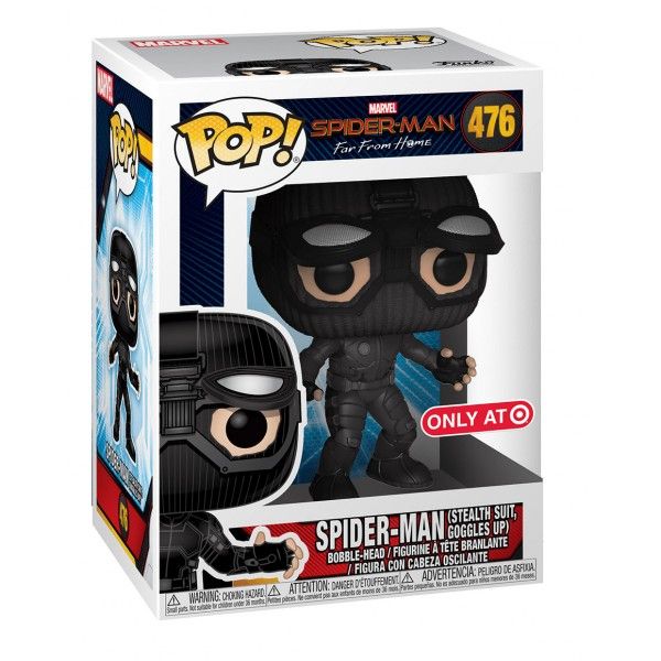 POP! Bobble: Marvel: Spider-Man: Far From Home: Stealth Suit Googles UP (Exc)