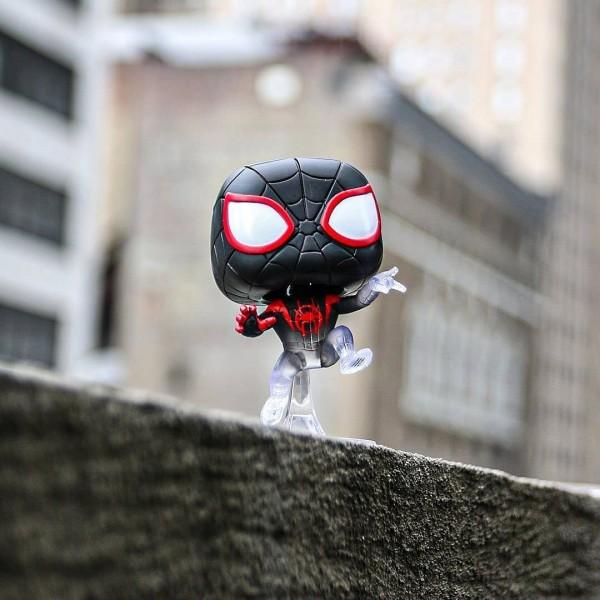 Фигурка Funko POP! Marvel: Animated Spider-Man: Исчезающий Майлз Моралес (Эксклюзив)