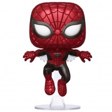 Фигурка Funko POP!: Marvel: 80th First Appearance: Spider-Man (Metallic)