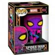 Фигурка Funko POP! Bobble Marvel Spider-Man Black Light (Exc)