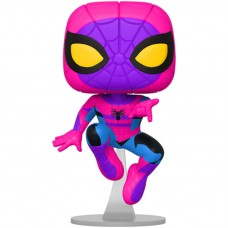 Фигурка Funko POP! Bobble Marvel Spider-Man Black Light (Exc)