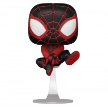 Фигурка Funko POP! Bobble: Marvel: Miles Morales (Bodega Cat Suit)