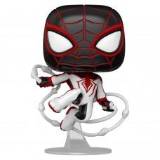 Фигурка Funko POP! Bobble: Marvel: Miles Morales (T.R.A.C.K. Suit)