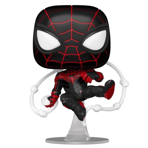 Фигурка Funko POP! Bobble: Marvel: Miles Morales (Advanced Tech Suit)