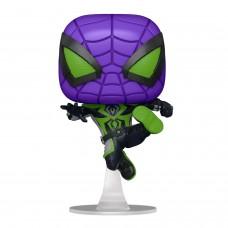 Фигурка Funko POP! Bobble: Marvel: Miles Morales (Purple Reign Suit)