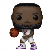 Фигурка Funko POP! NBA: Lakers: Lebron James (White Uniform)