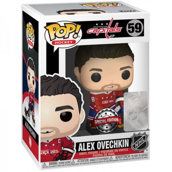 Фигурка Funko POP! Vinyl: NHL: Capitals: Alex Ovechkin (Alt Jersey) (Эксклюзив)