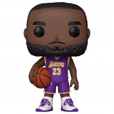 "Фигурка Funko POP! NBA: Lakers: 10"" LeBron James (Purple Jersey)"