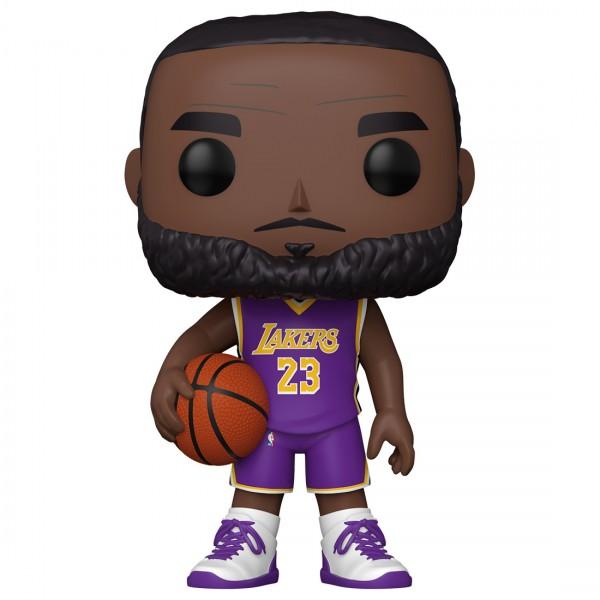 "Фигурка Funko POP! NBA: Lakers: 10"" LeBron James (Purple Jersey)"