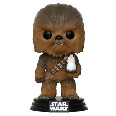 Фигурка Funko POP! Bobble: Star Wars: Chewbacca w/ Porg