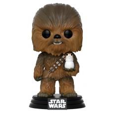 Фигурка Funko POP! Bobble: Star Wars: Chewbacca with Porg