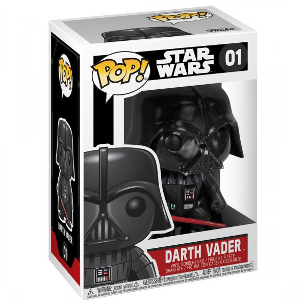 Фигурка Funko POP! Bobble: Star Wars: Darth Vader (Дарт Вэйдер)