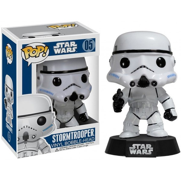 Фигурка Funko POP! Star Wars: Штурмовик (Stormtrooper)