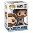 Фигурка Funko POP! Bobble: Star Wars: Clone Wars: Оби-Ван Кеноби (Obi Wan Kenobi)