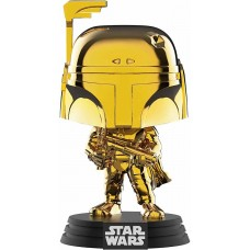 Фигурка Funko POP! Bobble: Star Wars: Boba Fett Gold Chrome Exclusive GC