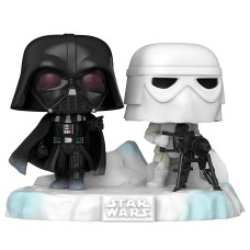 Фигурка Funko POP! Deluxe: Star Wars: Darth Vader & Snowtrooper (Exc)