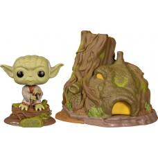 Фигурка Funko POP! Vinyl: Town: Star Wars: Yoda with Hut