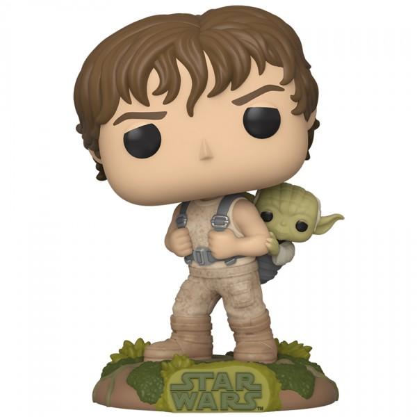 Фигурка Funko POP! Bobble: Star Wars: Luke with Yoda