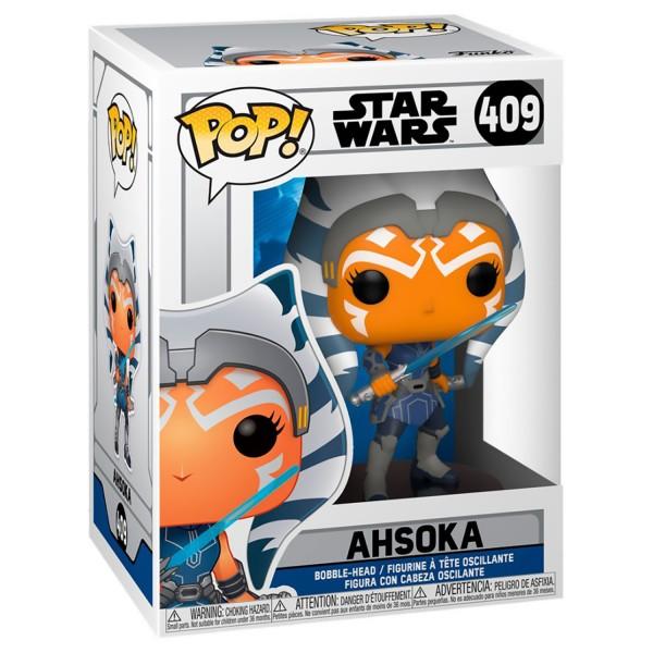 Фигурка Funko POP! Bobble: Star Wars: Clone Wars: Ahsoka
