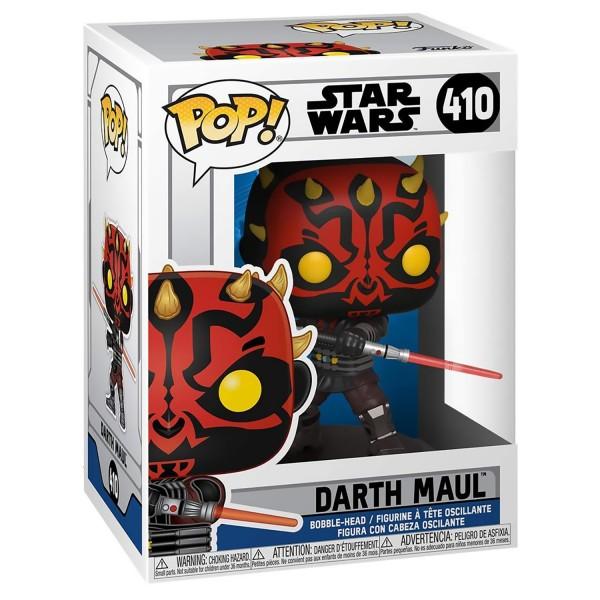 Фигурка Funko POP! Bobble: Star Wars: Clone Wars: Darth Maul