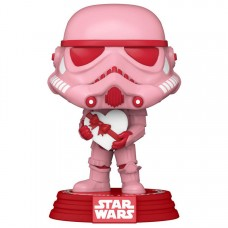 Фигурка Funko POP! Bobble: Star Wars: Valentines: Stormtrooper with Heart