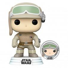 Фигурка Funko POP! Bobble: Star Wars: Luke Skywalker with Pin (Exc)