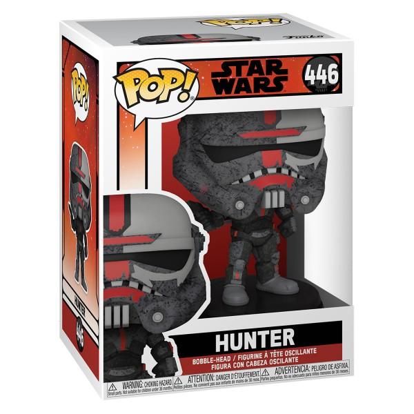 Фигурка Funko POP! Bobble: Star Wars: Bad Batch: Hunter