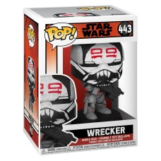 Фигурка Funko POP! Bobble: Star Wars: Bad Batch: Wrecker