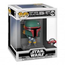 Фигурка Funko POP! Deluxe: Star Wars: Bounty Hunters Collection: Boba Fett (MT) (Exc)