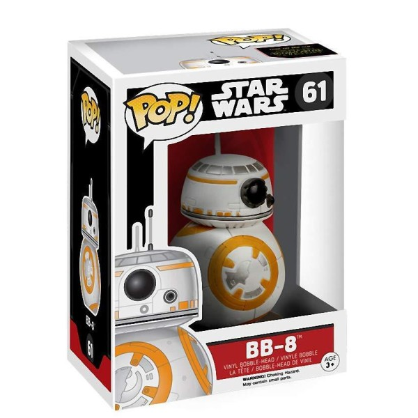 Фигурка Funko POP! Star Wars: Дроид Би Би 8 (BB-8)