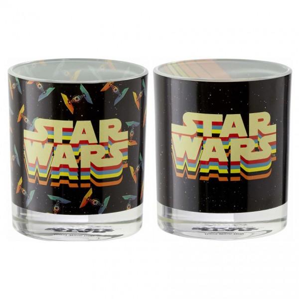 Набор стаканов Funko Star Wars Retro: Tumbler Set (2 шт.): Retro Vehicles UT-SW06326