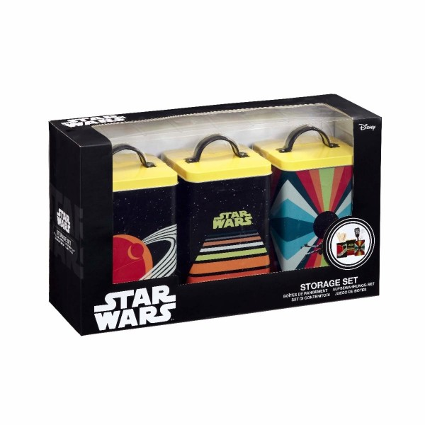 Набор контейнеров для хранения продуктов Funko Star Wars Retro UT-SW06327