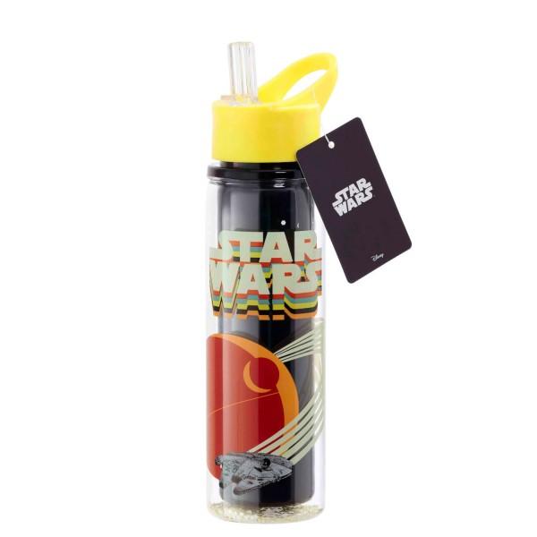 Бутылка пластмассовая Funko Star Wars Retro: Millennium Falcon UT-SW06332