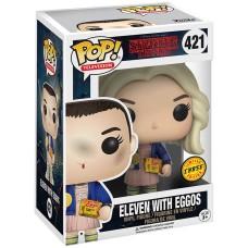 Фигурка Funko POP! Vinyl: Stranger Things: Eleven with Eggos (Chase)